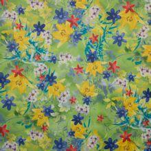 tricot met lentebloemen
