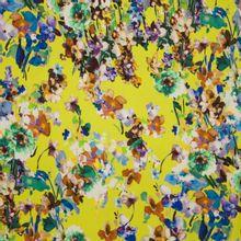 Italiaanse tricot met bloemen