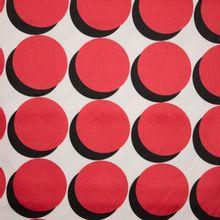 gesatineerde katoen rode bollen