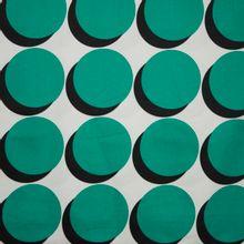gesatineerde katoen groene bollen
