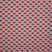 tricot rood geometrische motiefjes