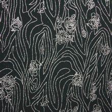 tricot zwart zilver