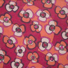 fijn breitje met bloemmotief