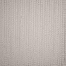voile met losse rondjes in gebroken wit