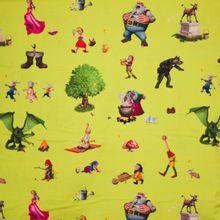 tricot met Efteling sprookjesfiguren