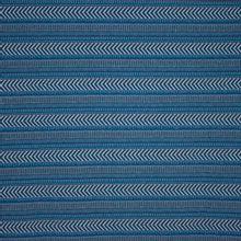 dikkere tricot  jeansblauw met streep en glitterdraad