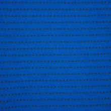 blauwe structuurtricot met blokjes