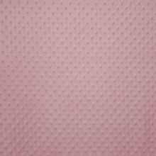 roze noppenfluweel Minky