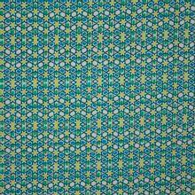 tricot met retro bloemetjes