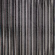 Fijne zwart / grijs / wit gestreepte ribfluweel