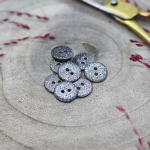 Knoopjes 12 mm 'Glitter-night' van Atelier Brunette