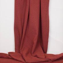 Tetra katoen bordeaux met zwarte streepjes