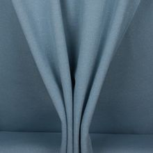 Lichtblauwe sweaterstof met zilveren glitter
