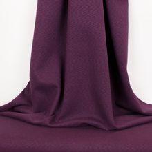 Gemeleerde nylon katoen tricot paars