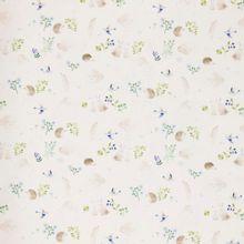 Witte katoen tricot Little Spring