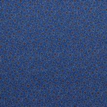 Blauwe katoen stretch van Poppy