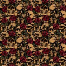 Katoen Skulls van Poppy