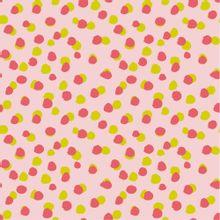 Roze katoen met stippen van Poppy