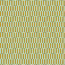 Blauw/ gele Katoen van Poppy