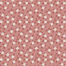Roze tricot met bloemetjes van Poppy