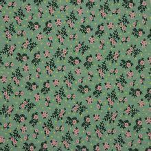 Groene tricot met bloemetjes van Poppy
