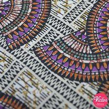 Zachte katoen met kleurrijk patroon van La Maison Victor