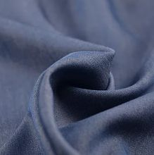 Blauwe viscose polyester elasthane van La Maison Victor