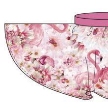 Paneel flamingo voor cirkelrokje