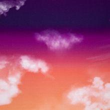Donkere Wolkenlucht Katoen Modal