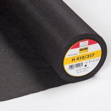 H410 vlieseline in zwart