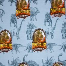 Blauwe Tricot met Dino's