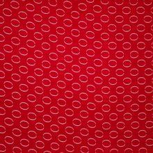 Rode Viscose met Cirkels van B*Trendy