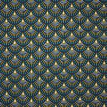 Donker Blauwe Katoen met Print van B*Trendy
