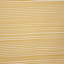 Wit Bruin Gestreepte French Terry Waves van Eva Mouton
