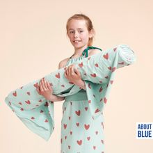 Licht Blauwe Spons met Hartjes van About Blue