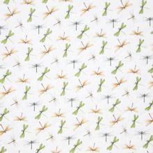 Witte Gewatteerde Tetra met Libellen