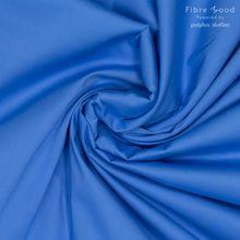 Blauwe Katoen Stretch van Fibre Mood