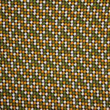 Viscose Jersey met Groen Oranje Patroon van My Image
