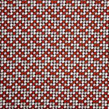 Viscose Jersey met Rood Patroon van My Image