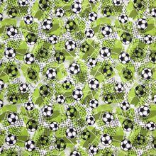 Groene Tricot met Voetbalprint