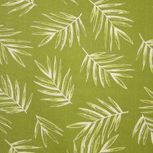 Groene Viscose Linnen met Palm Bladeren