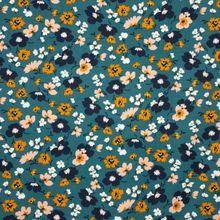 Turquoise Tricot met Bloemen van Poppy