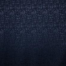 Blauwe Satijn Damast van Stitched By You