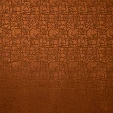 Oranje Satijn Damast van Stitched By You