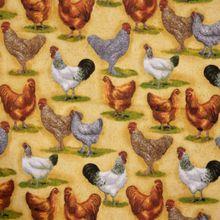 Katoen met Kippen
