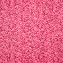Roze Katoen met Krullende Bladeren Patroon