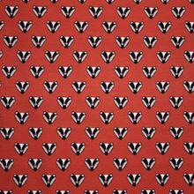 Rode Tricot met Dassen