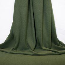 Groen breitje met gebrushte achterkant