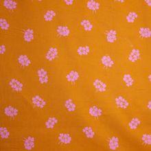 Oranje Geribbelde Katoen van La Maison Victor