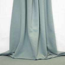Blauwe Sweater met Geruwde Achterkant